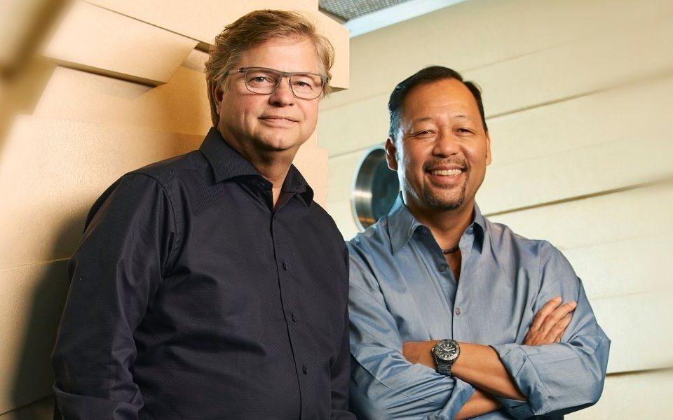 Scott Demerau and Cecil Magpuri